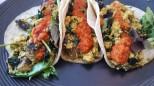 Tofu Scramble, Quinoa Breakfast Tacos