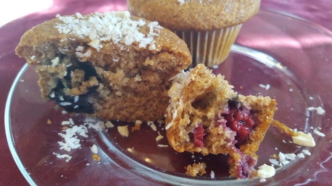 Berry Muffins (wheat-free, vegan)