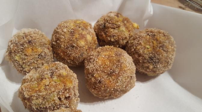 Raw Truffles- Charoset Passover Dessert