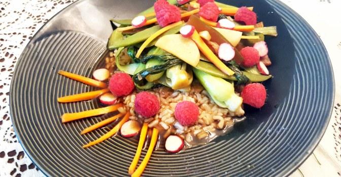 Asian Salad — Karma Farm