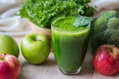 diet fresh green detox green smoothie